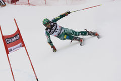SKI: Alpine Ski World Cup Alta Badia Giant Slalom Stock Image
