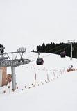Ski Alps elevator Royalty Free Stock Photos
