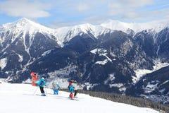 Ski Amade, Áustria imagens de stock royalty free