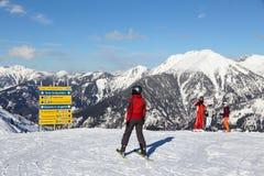 Ski Amade, Austria Royalty Free Stock Images