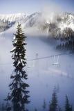 Ski area Stock Image