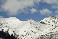 Ski area Stock Photo