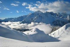 The Ski Area Stock Photography