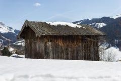 Ski area Dienten am Hochkonig, austria Alps in winter Royalty Free Stock Photo