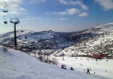 Ski Area mount Hermon Royalty Free Stock Images