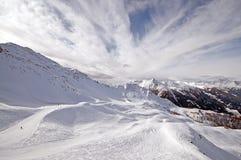 Ski arena, Austria Stock Photo