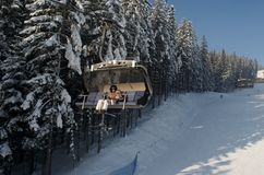 Ski-Aufzug Lizenzfreie Stockfotografie