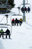 Ski-Aufzug Stockfotos