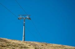 Ski-Aufzug bei Grindelwald/zuerst Lizenzfreie Stockfotografie