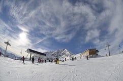 Ski Bansko Fotografie Stock