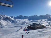 Ski Bar i solen Royaltyfri Foto