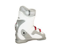 Ski boot Royalty Free Stock Image