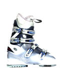 Ski boot. Royalty Free Stock Image