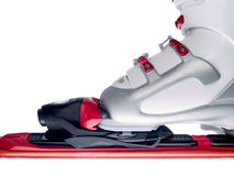Ski boot Royalty Free Stock Photography