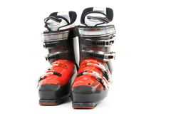 Ski boot Stock Image