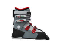 Ski Boot Isolated Stock Photo
