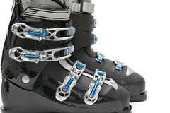 Ski boots Royalty Free Stock Images