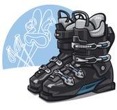 Ski boots Royalty Free Stock Photo
