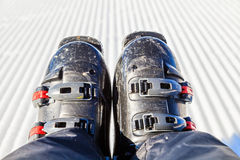 Ski boots Stock Photography
