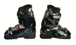 Ski boots Royalty Free Stock Photo