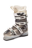 Ski boots isolated on white background Royalty Free Stock Photography