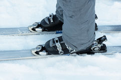 Ski boots Royalty Free Stock Photos