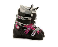 Ski boots w Royalty Free Stock Photos
