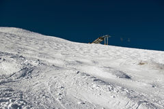 Ski Bowl with Lift Royalty Free Stock Photos