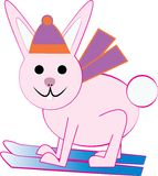 Ski Bunny Stock Photography