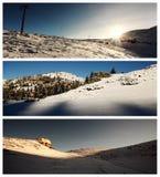 Ski center landscapes Stock Image