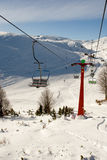 Ski center Mavrovo, Macedonia Royalty Free Stock Photography
