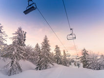 Ski center of Vogel-Slovenia Stock Photos