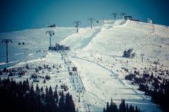 Ski centre Jasna, Slovakia Royalty Free Stock Photo