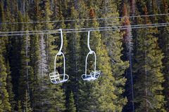 Ski Chair Lift Foto de archivo