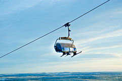 Ski chairlift Stock Photography
