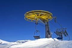 Ski Chairlift lizenzfreie stockfotos