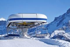 Ski Chairlift stockfoto