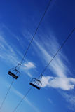 Ski chairlift Royalty Free Stock Photo