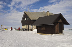 Ski chalet Royalty Free Stock Photos