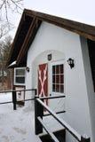 Ski chalet at New Hampshire Royalty Free Stock Photography