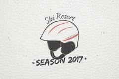 Ski Club Team Berg und Abenteuer im Freien Winterurlaube und Ferien Lizenzfreie Stockfotos