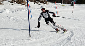 Ski Compatition Stock Images