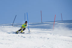 Ski contest Stock Photography