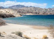 Ski Cove, Mohave de lac, Arizona photographie stock libre de droits