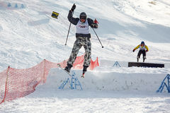 Ski cross Royalty Free Stock Photography