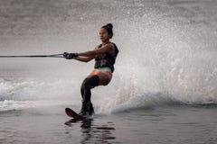 Ski 2015 d'eau national de championnats de tasse de Putrajaya et Wakeboard Image stock