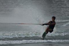 Ski 2015 d'eau national de championnats de tasse de Putrajaya et Wakeboard Photos libres de droits