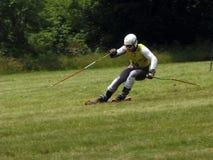 Ski d'herbe de carte de travail - Cenkovice Photographie stock libre de droits