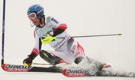 Ski de Benni Raich Autriche Photos libres de droits