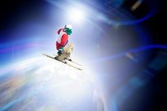 ski de cavalier Image stock